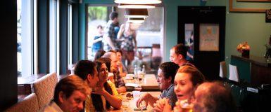 Réunion Transition Numérique et déjeuner à Roanne